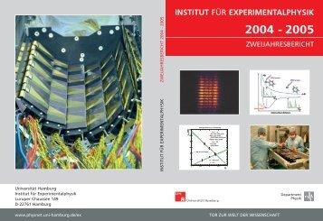 experimentalphysik 2004 - 2005 - Institut für Experimentalphysik ...