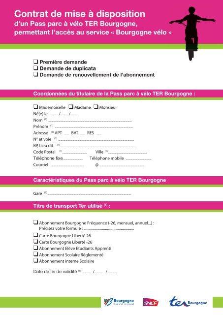 Carte Bourgogne Liberte.Au Service Bourgogne Va C Lo Ter Sncf