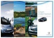Groen ondernemen - Peugeot Nederland