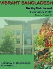 December - The Embassy of Bangladesh in Washington DC