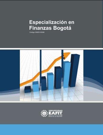 Finanzas Conducente a la Maestría en Administración Financiera MAF