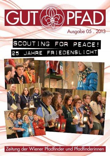 Scouting for Peace! - Wiener Pfadfinder und Pfadfinderinnen