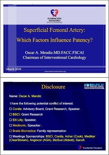 Superficial Femoral Artery