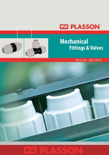 Compression Fittings - List Price - Peak Pipe Systems