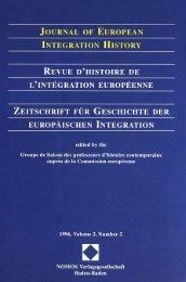 1996, Volume 2, N°2 - Centre d'études et de recherches ...