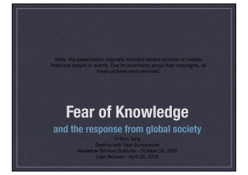 download pdf, 648 kb - Dealing with Fear