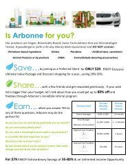 Is Arbonne for you? - Beaty Nation | Arbonne | Pure and Safe Health