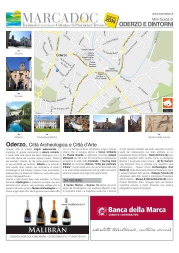 Mappa Turistica di Oderzo - Marcadoc.it