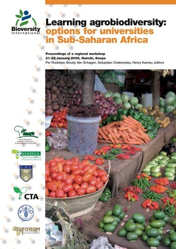 Learning agrobiodiversity: options for universities in Sub-Saharan ...