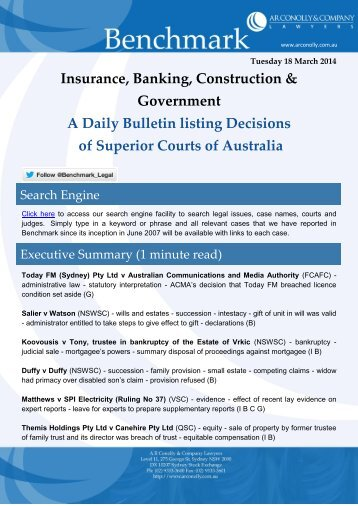 benchmark_18-03-2014_insurance_banking_construction_government