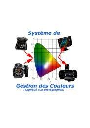 Information sur la gestion de la couleur par Eric Chapalain - Kelvin-pro