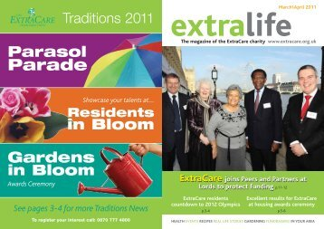 April 2011 - ExtraCare Charitable Trust