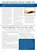 medlemsnyt - Det Faglige Hus - Page 6
