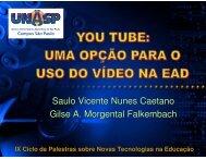Saulo Vicente Nunes Caetano Gilse A. Morgental ... - cinted/ufrgs
