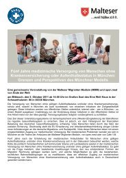 Programm (PDF) - Ärzte der Welt e.V.