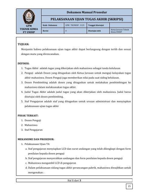 Download Pdf Teknik Kimia Undip