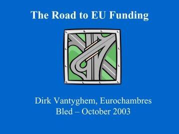 The Road to EU Funding... - Eurochambres Academy