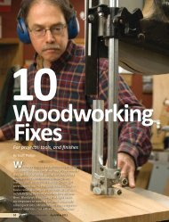 40-Woodworking fixes-1b-JH.indd - Woodcraft Magazine