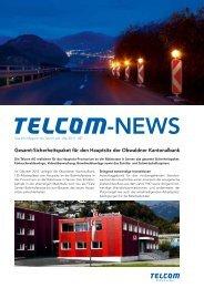 27. Ausgabe Mai 2013 - Telcom AG