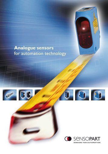 Analogue sensors for automation technology - Axima