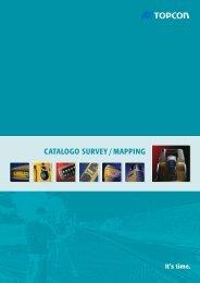 CATALOGO SURVEY / MAPPING - Topcon Positioning
