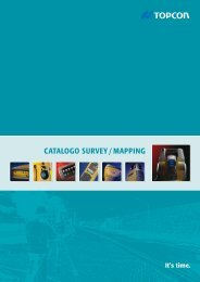 CATALOGO SURVEY / MAPPING - Topcon Positioning