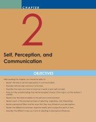 Self, Perception, and Communication - PageOut