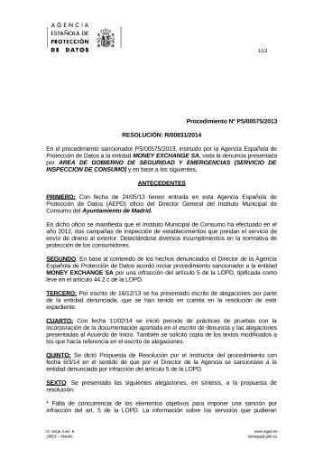 PS-00575-2013_Resolucion-de-fecha-14-04-2014_Art-ii-culo-5.1-LOPD
