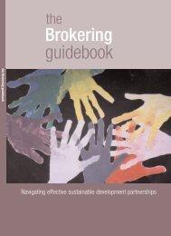 The Brokering Guidebook - Global Business School Network