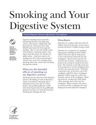 Smoking and Your Digestive System - National Digestive Diseases ...