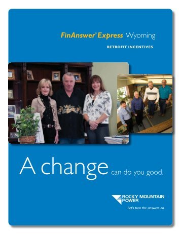FinAnswer Express Retrofit Incentives Brochure - Rocky Mountain ...