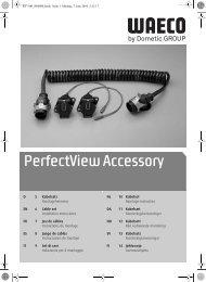 Instrucciones de montaje - Waeco