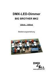 DMX-LED-Dimmer BIG BROTHER MK2 330mA - DMX4ALL GmbH