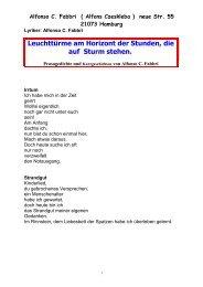 Alfonso C. Fabbri ( Alfons Czeskleba ) neue Str ... - ART-BLOXX.com