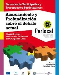 Libro de democracia participativa y presupuestos participativos.