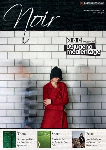 NOIR 13 - Jugendpresse BW