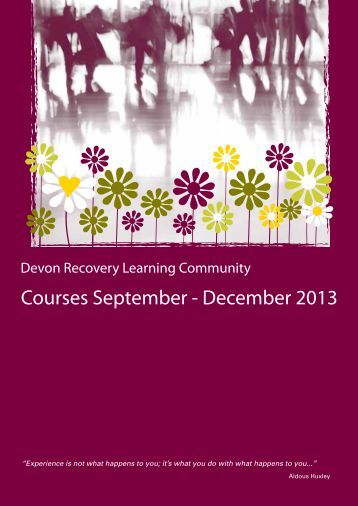 to view the prospectus - Devon Partnership NHS Trust