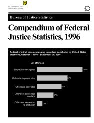 Compendium of Federal Justice Statistics, 1996: Introduction