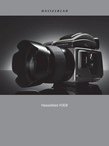 Hasselblad H3DII - Hasselblad.es