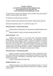 1 Protokół nr XXXV/13 z obrad XXXV zwyczajnej sesji Rady ... - Łomża