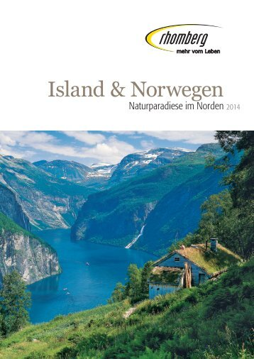Island & Norwegen 2013 - Rhomberg Reisen