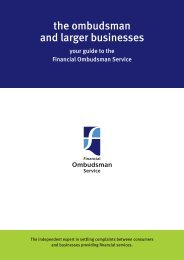 The ombudsman and larger businesses [PDF opens in new window]