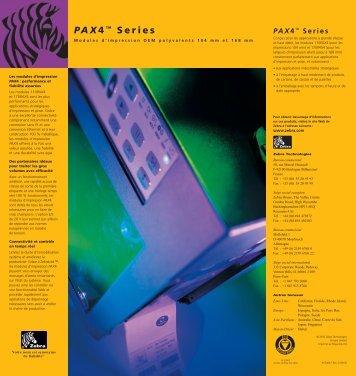PAX4™ Series - Turbel