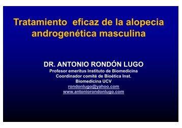FINASTERIDE - Antonio Rondón Lugo