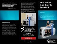 The AlterG Anti-Gravity Treadmill - Jacksonville Orthopaedic Institute