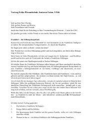 Erika Pfreundschuh - Initiative Frankfurter Stiftungen eV