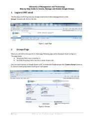 Create, Manage and Delete Google Groups - UMT Admin Panel ...