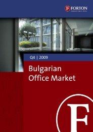 Bulgarian Office Market – Q4, 2009.pdf - Forton