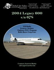 2004 Legacy 600 s/n 678 - Business Air Today