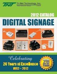 View Catalog - Tri-Net Technology